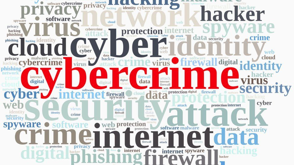 list of cybercrime words
