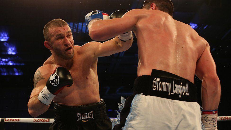 Avtandil Khurtsidze boxing Tommy Langford