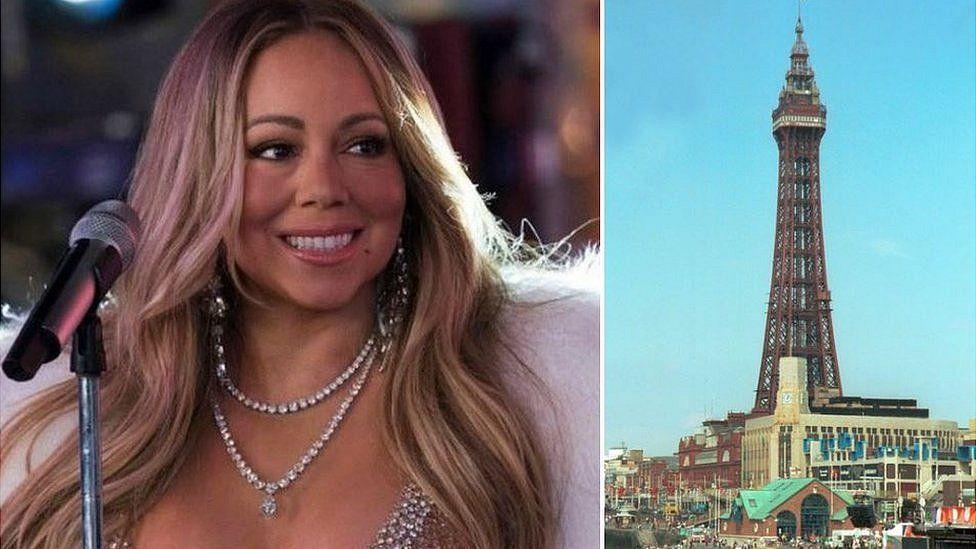 Mariah Carey/Blackpool Tower