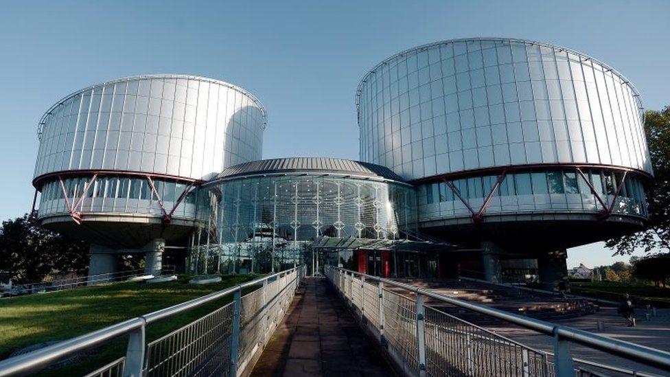 The ECHR building in Strasbourg