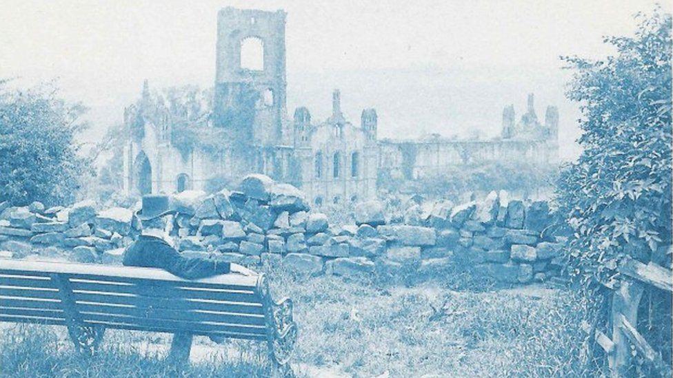 Washington Teasdale at Kirkstall Abbey