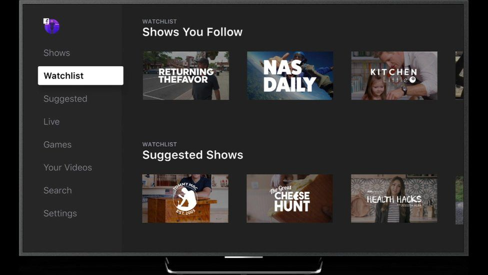 Facebook: Users will soon see a new Watch tab that will offer a range of shows