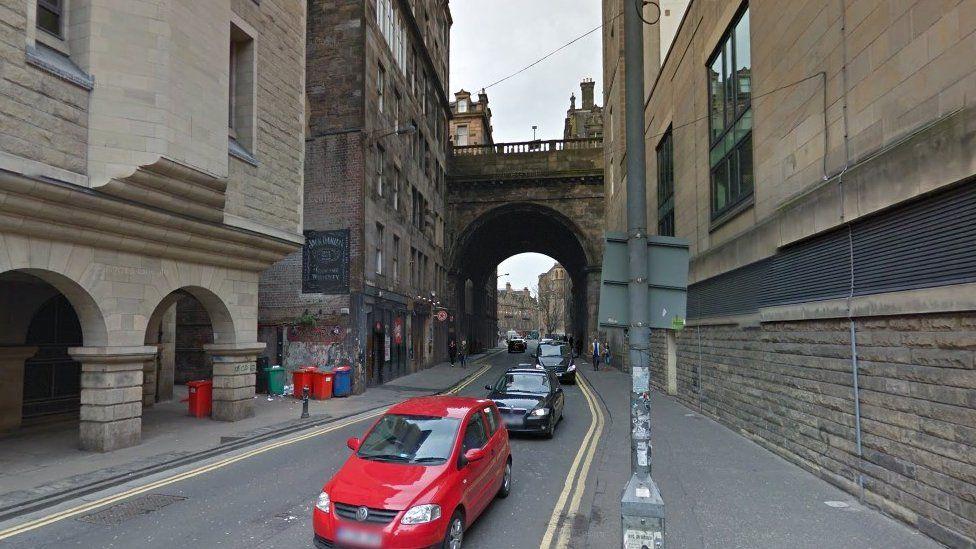 Cowgate under the George IV Bridge
