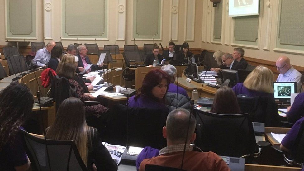 Kirklees Council meeting