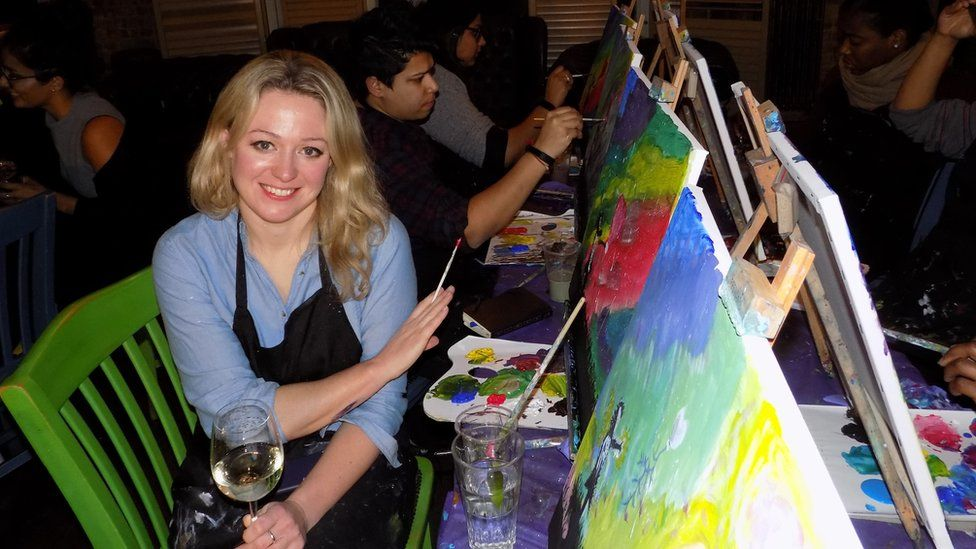 Writer Susie Bearne attended a Pop Up Painting class in London