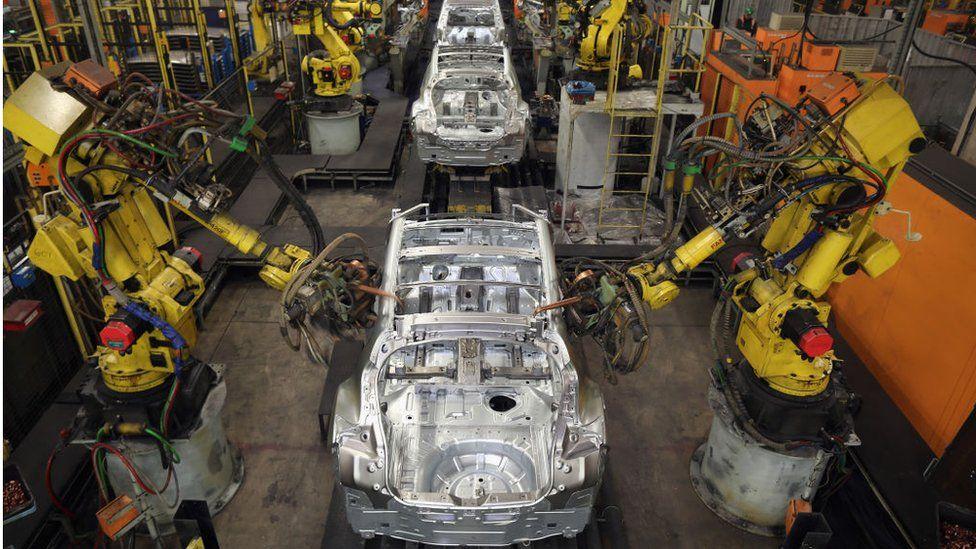 Nissan's car factory in Sunderland
