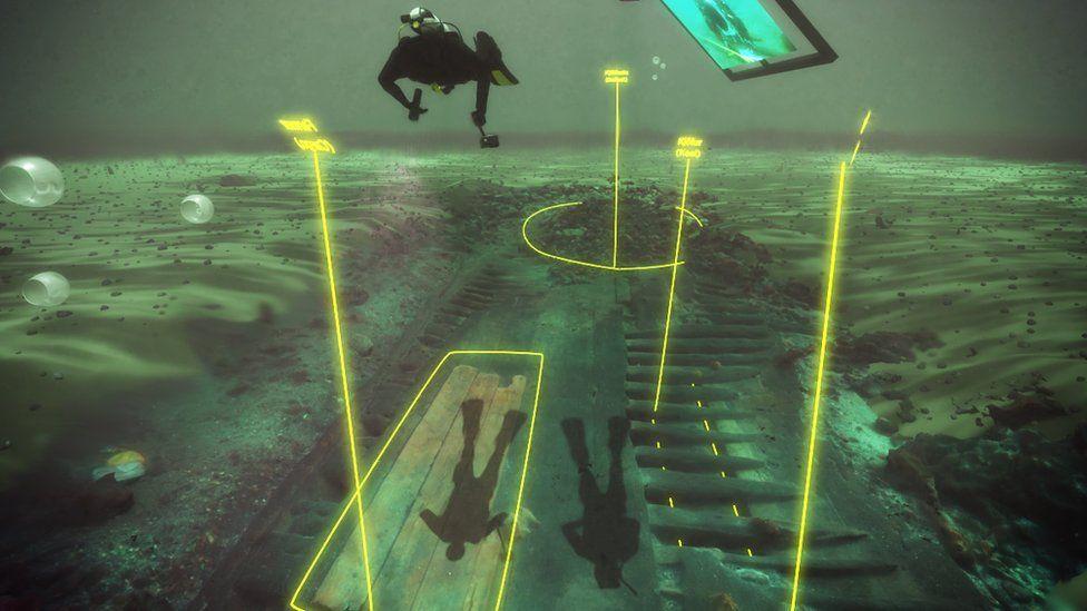 Virtual dive