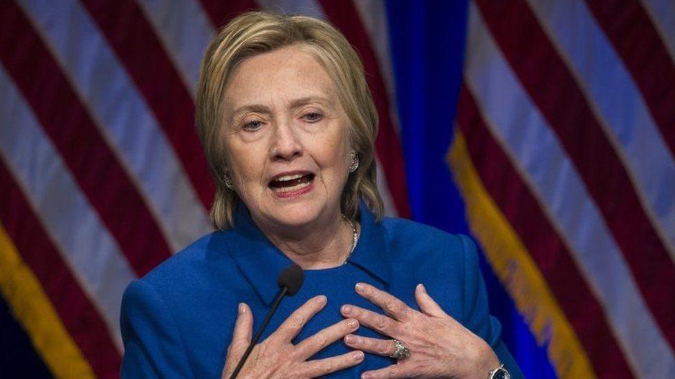 Hillary Clinton. Photo: 16 November 2016