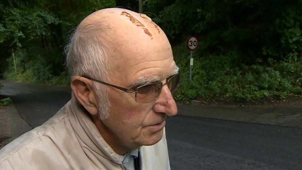 Willersley Lane Cromford Derbyshire bike crash