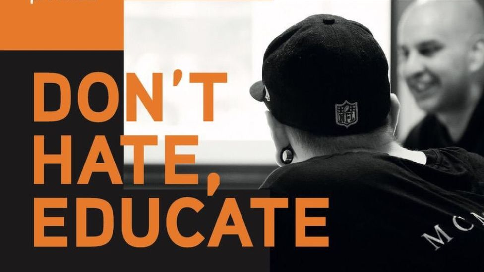 Don't Hate, Educate leaflet