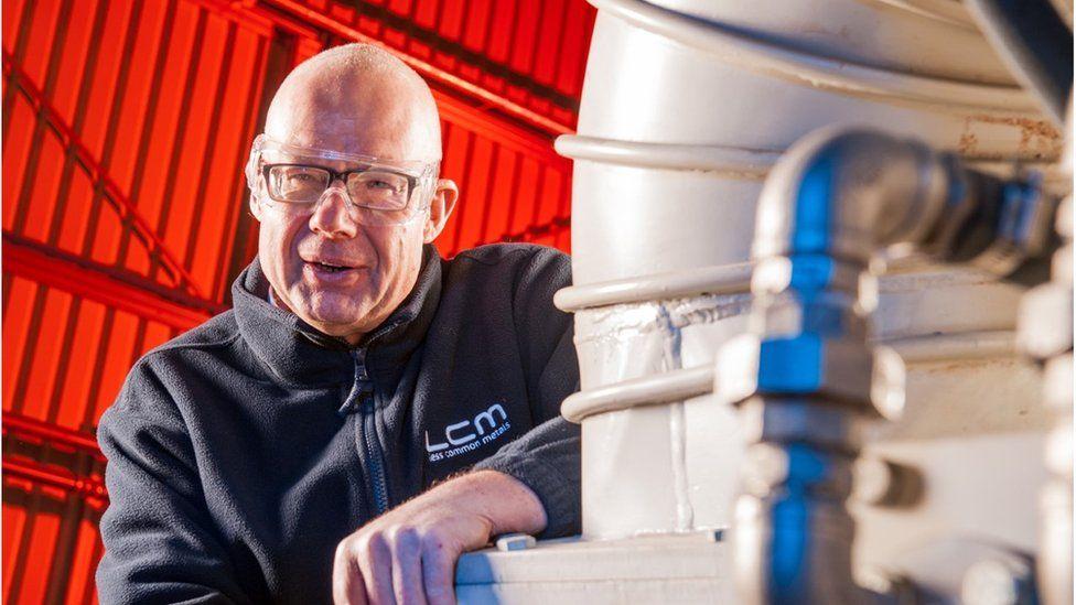 Ian Higgins, director of Less Common Metals