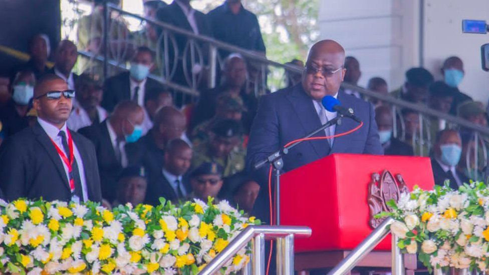 President Felix Tshisekedi