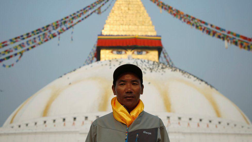Nepali climber Kami Rita Sherpa