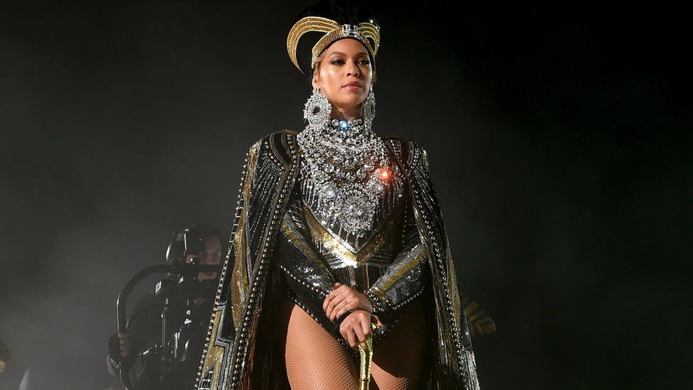 Beyonce as Nefertiti