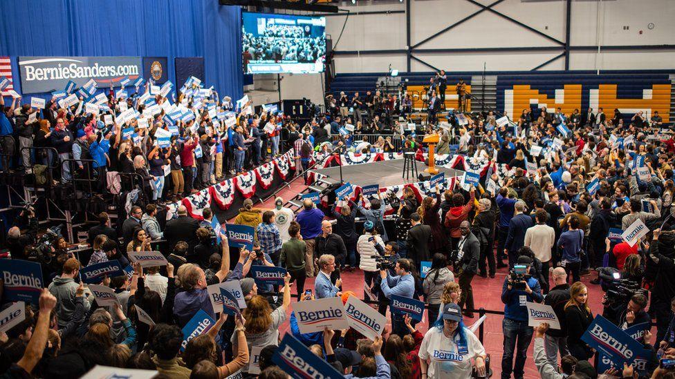 Bernie Sanders rally