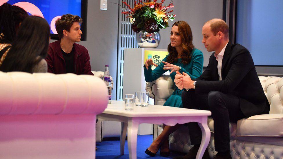 The royal couple met Radio 1 Breakfast presenter Greg James
