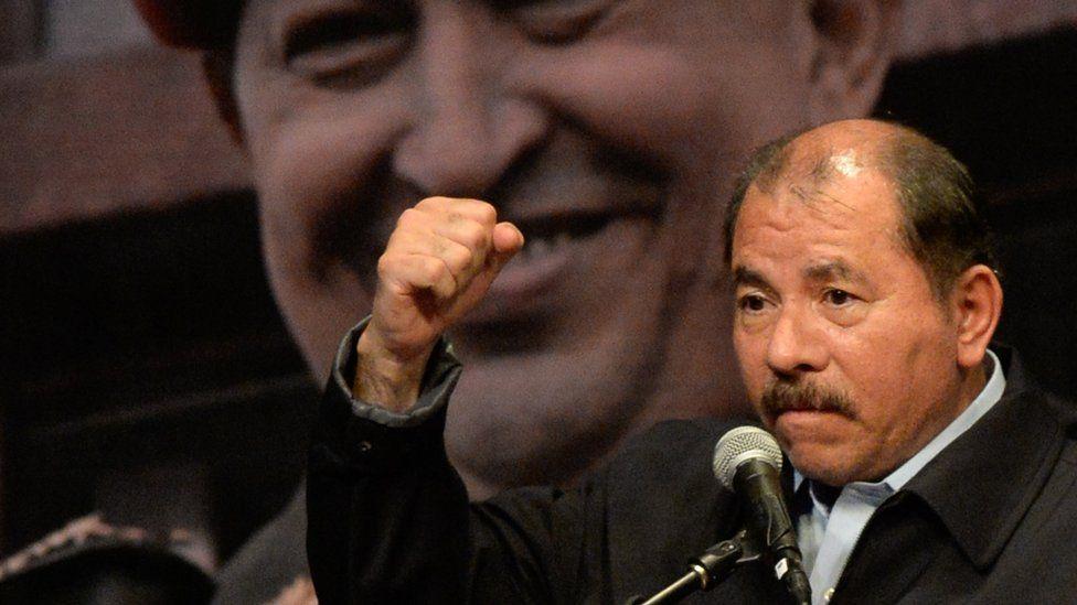 Nicaraguan President Daniel Ortega