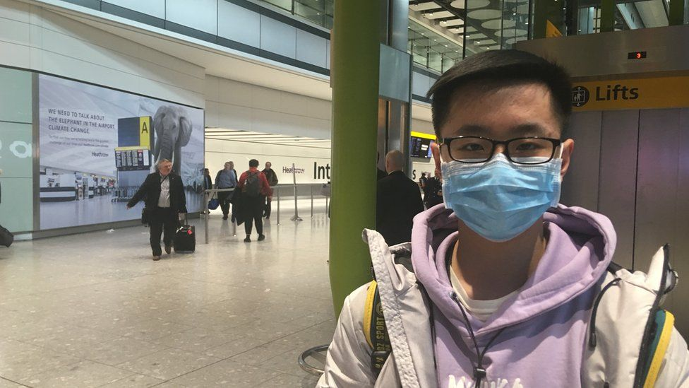 Joel Hao, 21, first year business student at Swansea University