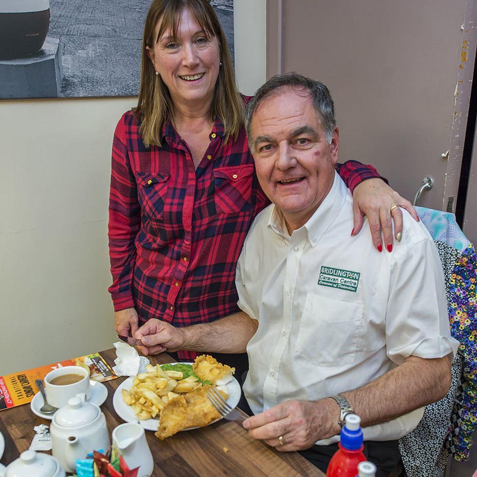 John Hesp and his wife Mandy