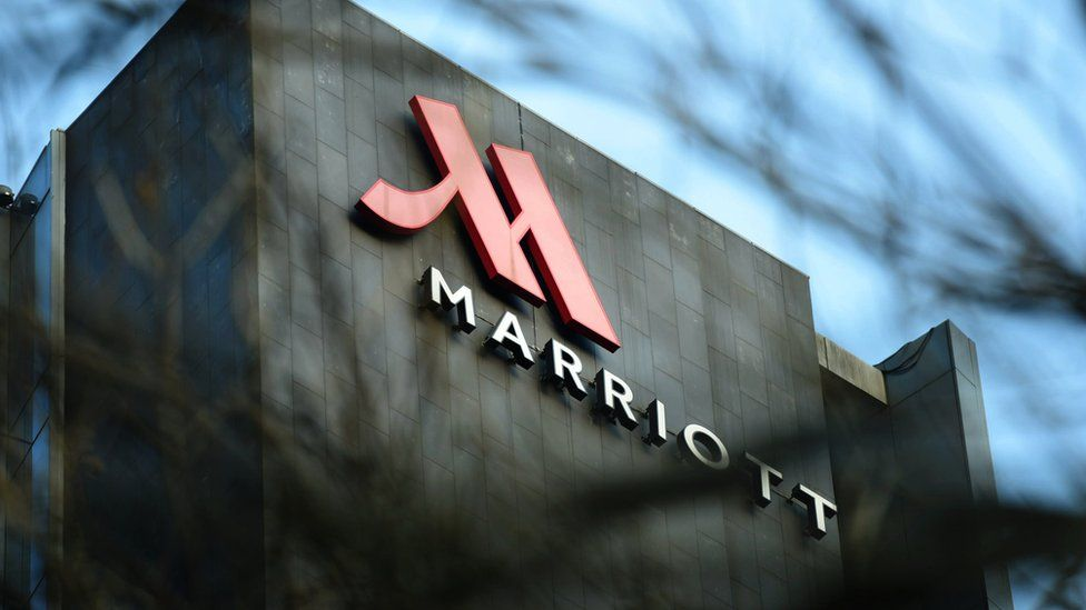 A Marriott hotel in China
