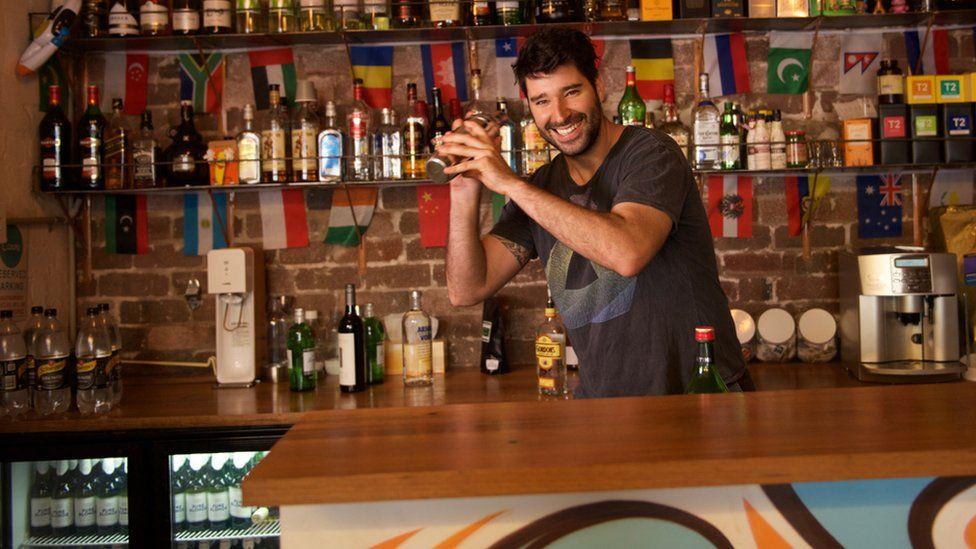 Canva's bar