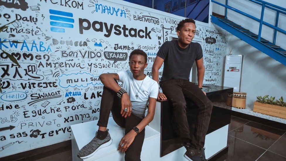 Paystack founders Ezra Olubi and Shola Akinlade