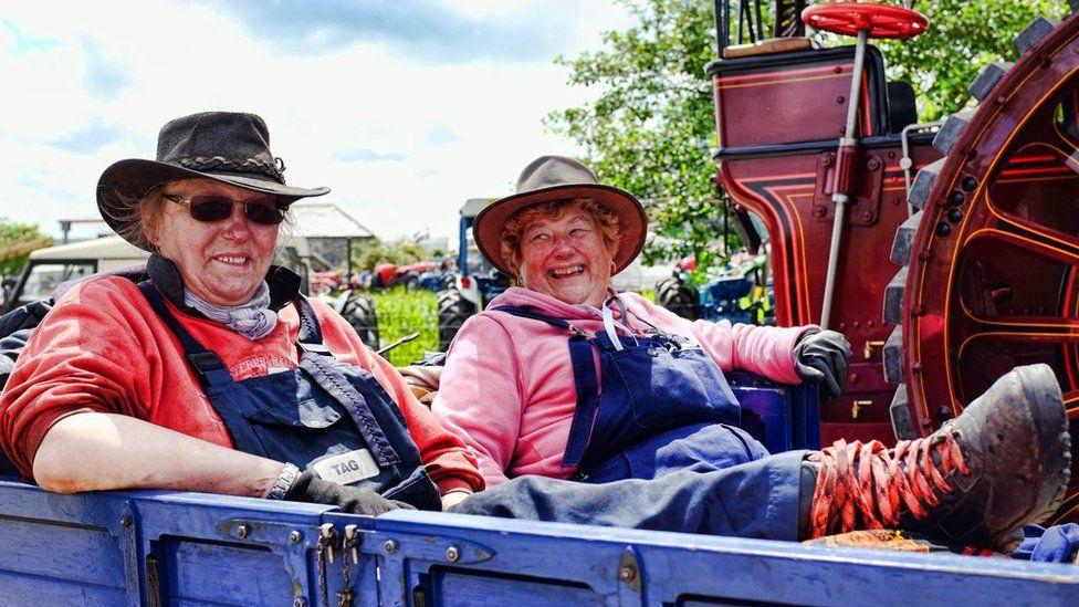Women at Royal Cornwall Show