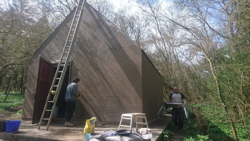 Scout hut pre-damage