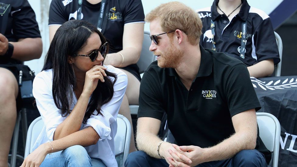 Markle and Harry at Invictus Games