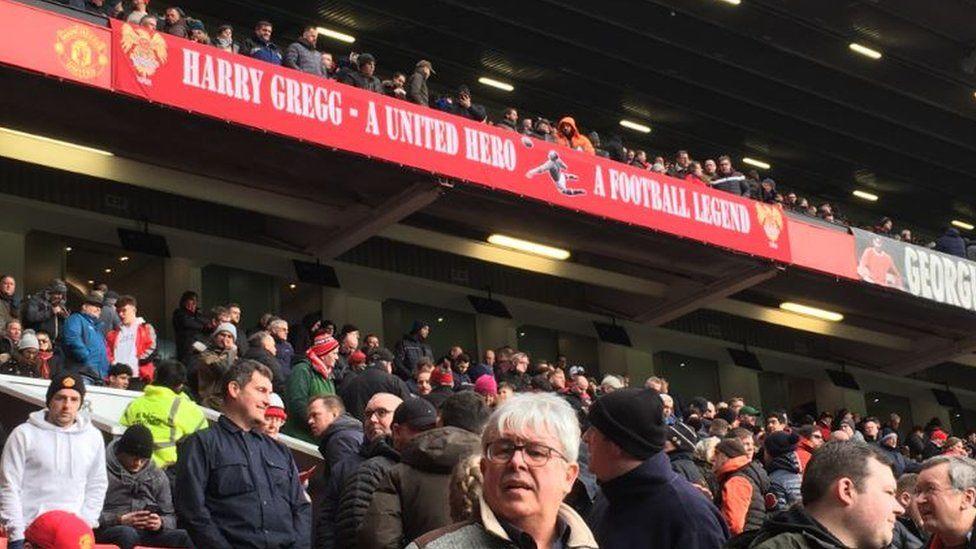 Harry Gregg banner