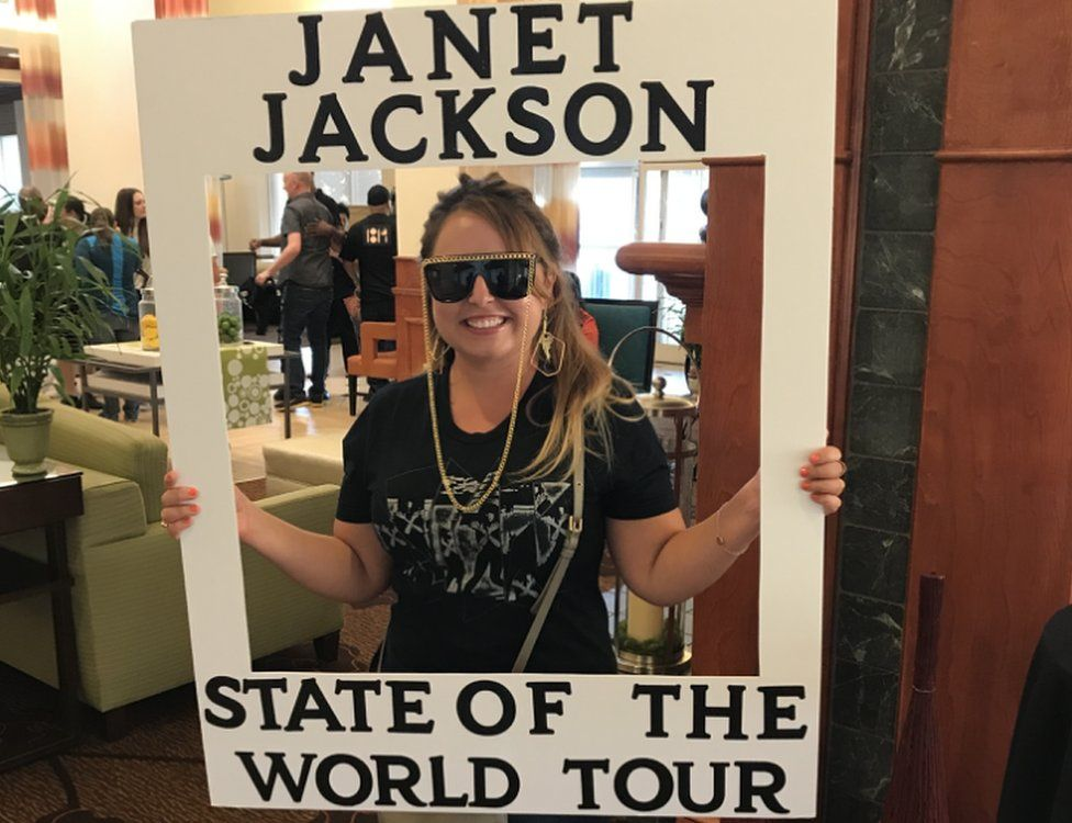 Christine Cardona attends the State of the World tour in Lafayette (courtesy of Christine Cardona)