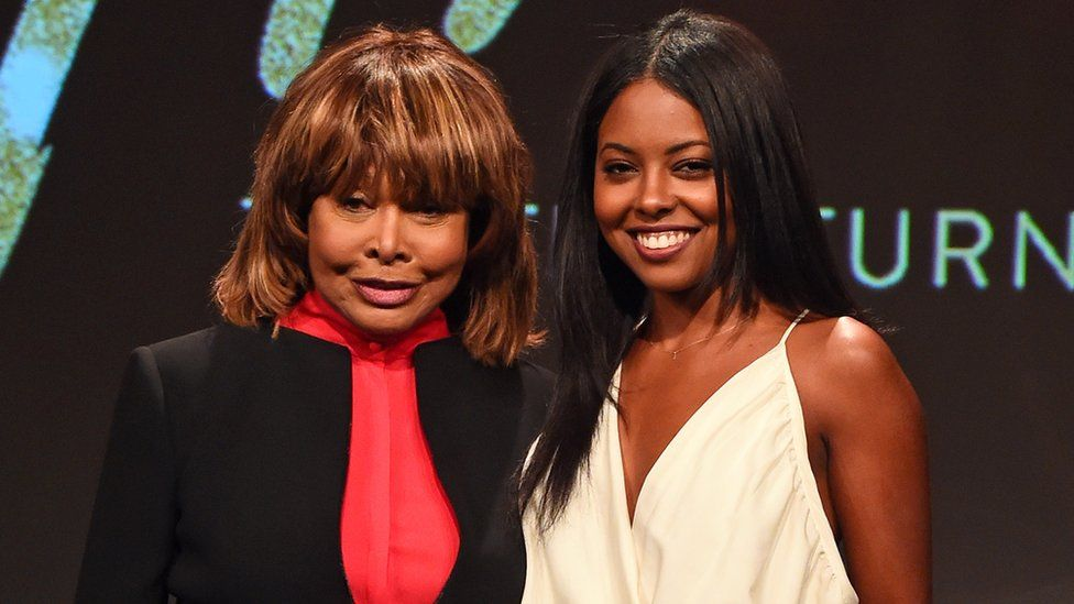 Tina Turner and Adrienne Warren
