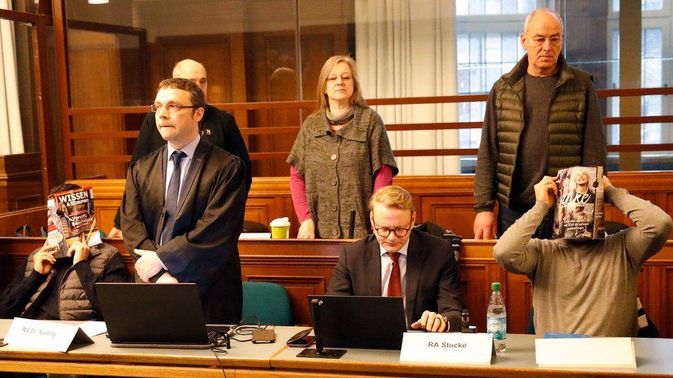 Defendants in court, 10 Jan 19