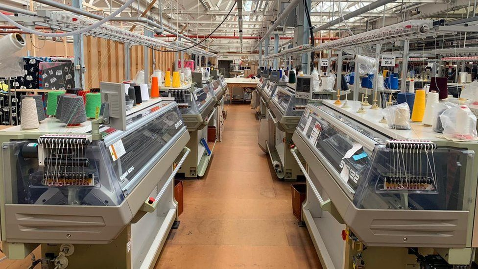 empty textile factory