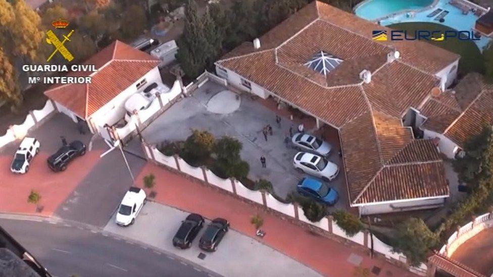 Dawes Spanish villa