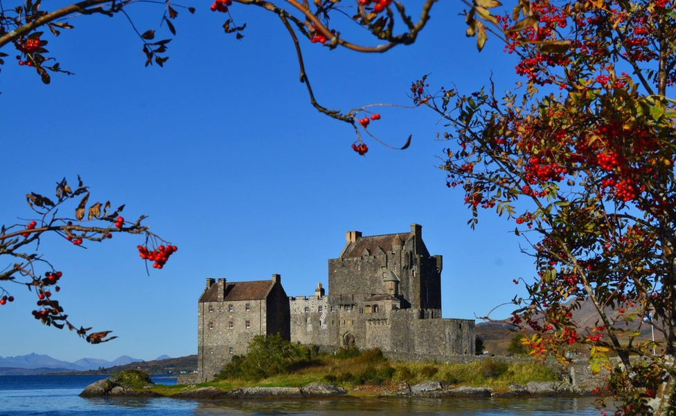 Eilean Donan Castle Drove past here on the way back from an incredible 4 days on Skye. I could submit dozens of photos. Balmullo, Fife.
