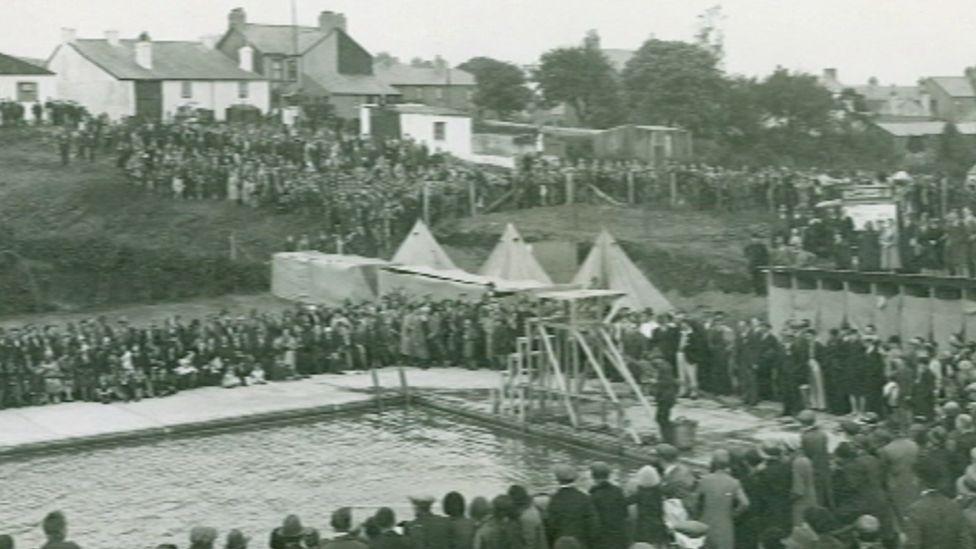 The Brynmawr pool in 1933