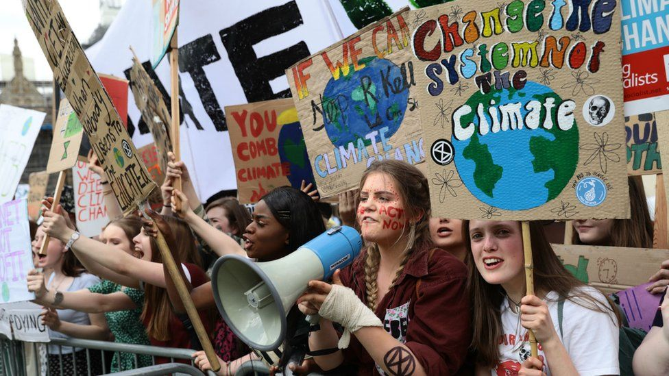 London students take part in the climate strike