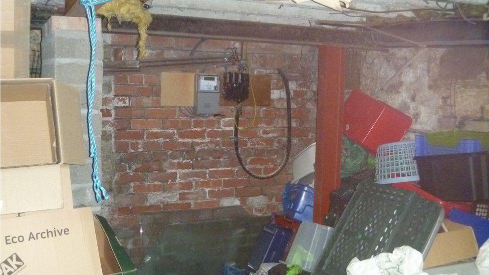 Blackwood shop basement