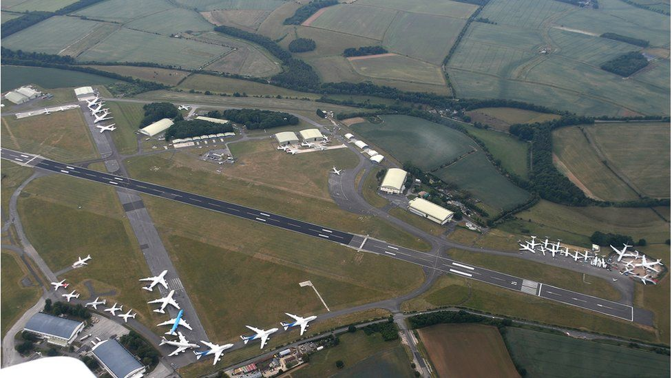 Mark Gregory has been operating for more than 20 years out of Cotswolds Airport,
