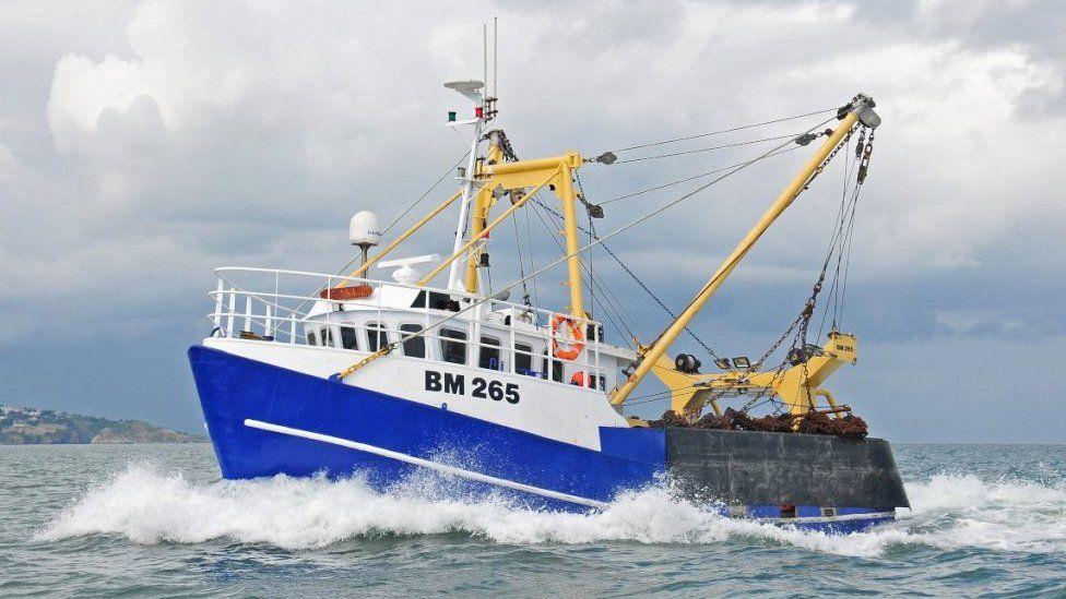 Joanna C fishing boat