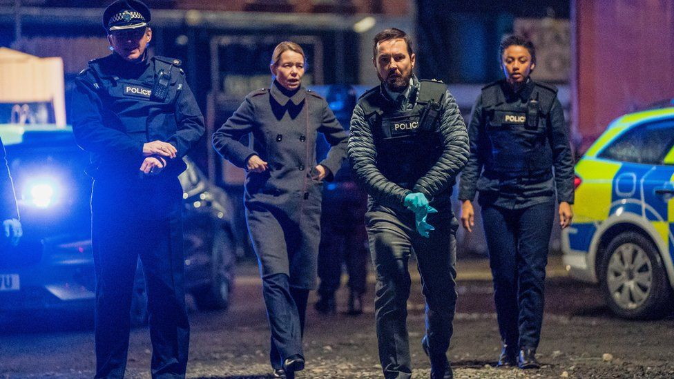 A shot from Line of Duty