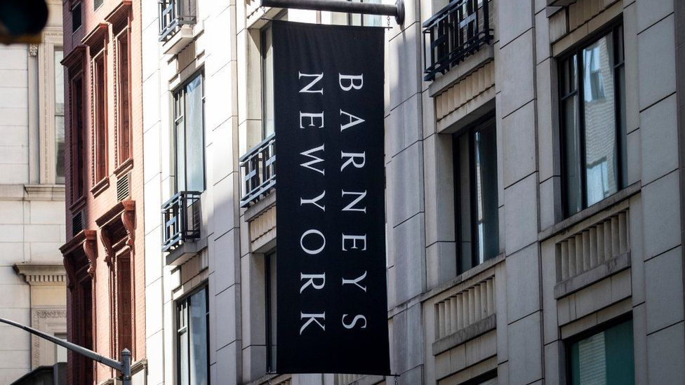 Barneys store in Manhattan