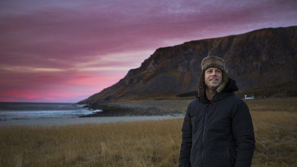 Surfer Mick Fanning in Norway