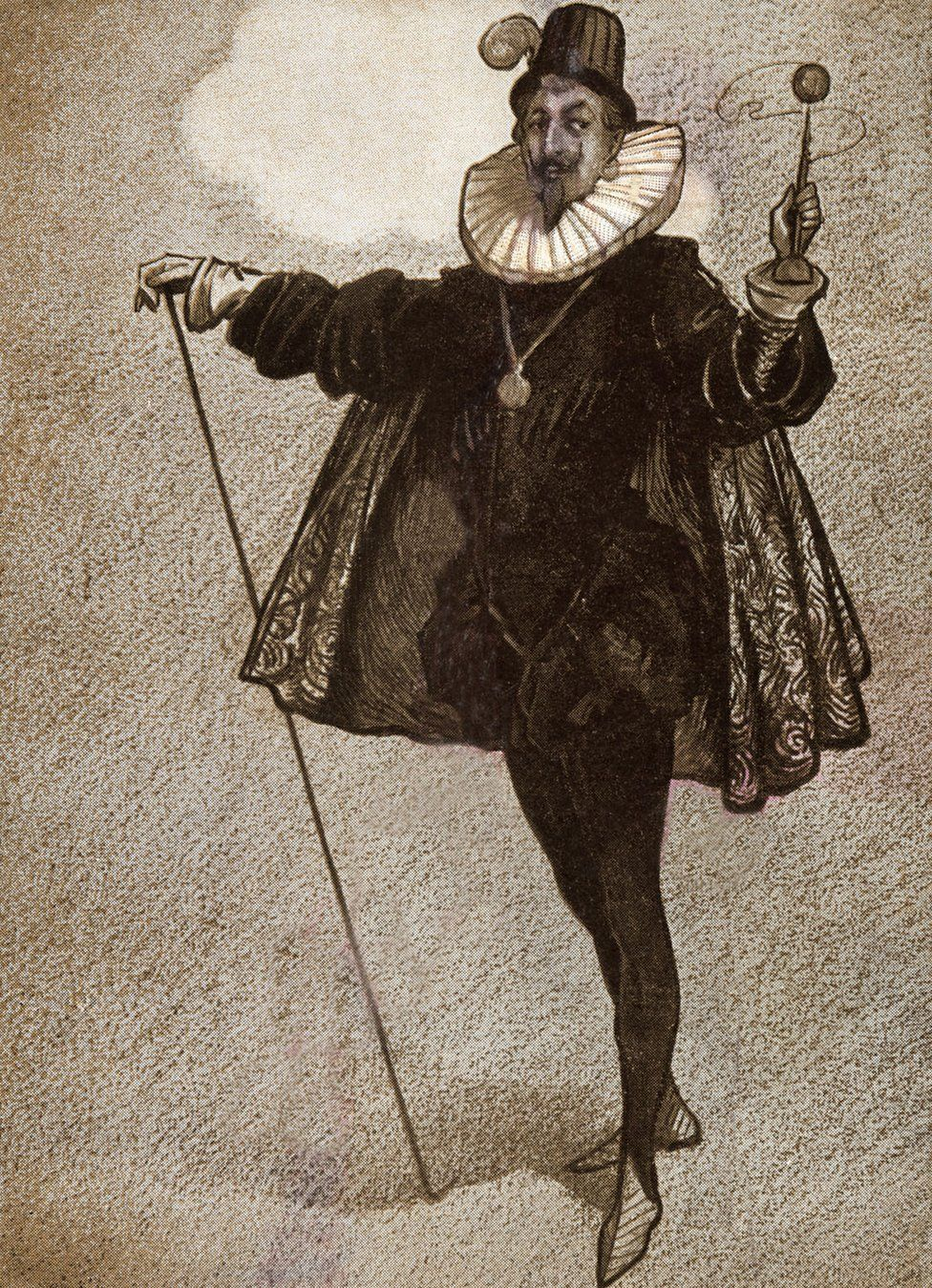 The Bard satirized the Pilgrim Fathers through the self-important character of Malvolio in Twelfth Night
