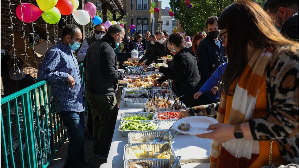New Jersey Muslims gather for Eid ul-Fitr