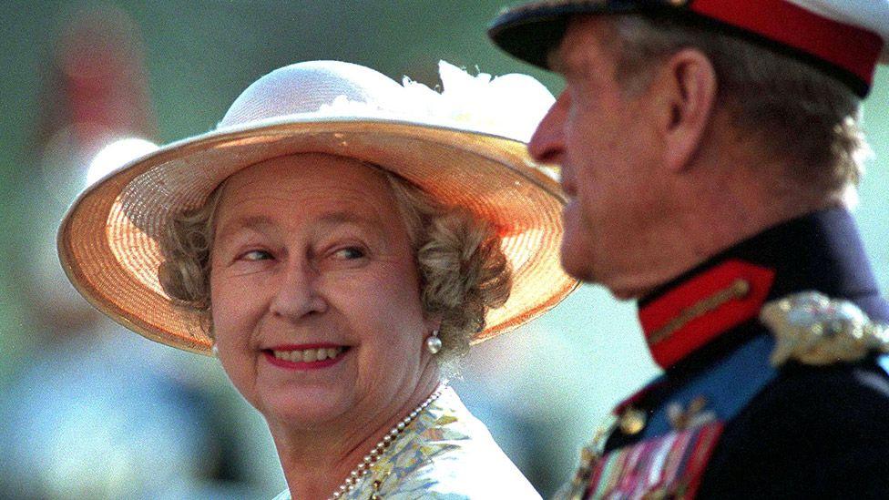 The Queen and Duke of Edinburgh in 1996