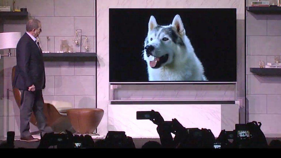 88in 8K TV