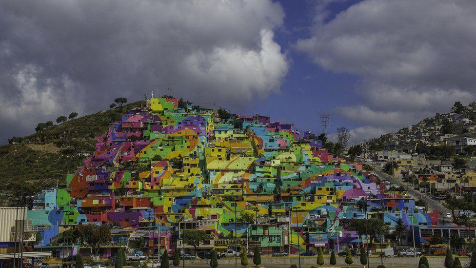 A view of the Palmitas neighbourhood
