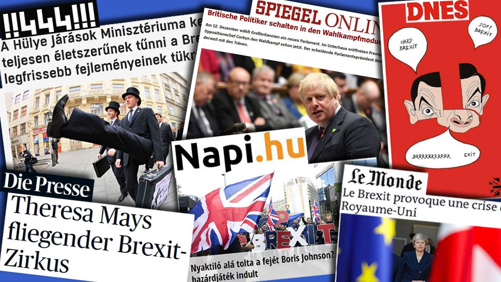 Headlines from European newspapers